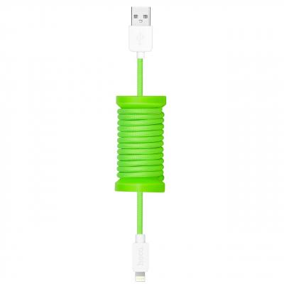 کابل تبدیل USB به لایتنینگ هوکو مدل U12 Silica Gel طول 1.1 متر