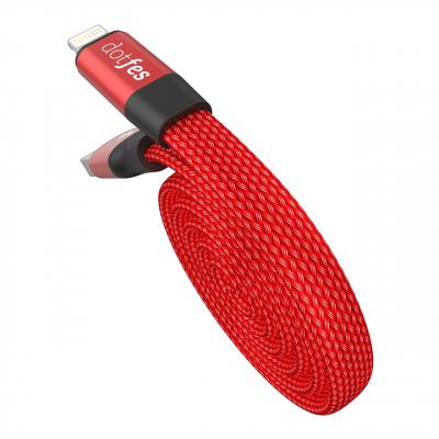 کابل تبدیل USB به لایتنینگ داتفس مدل A09 به طول 80 سانتی متر