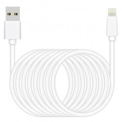 کابل  شارژ  تبدیل USB به لایتنینگ به طول 3 متر