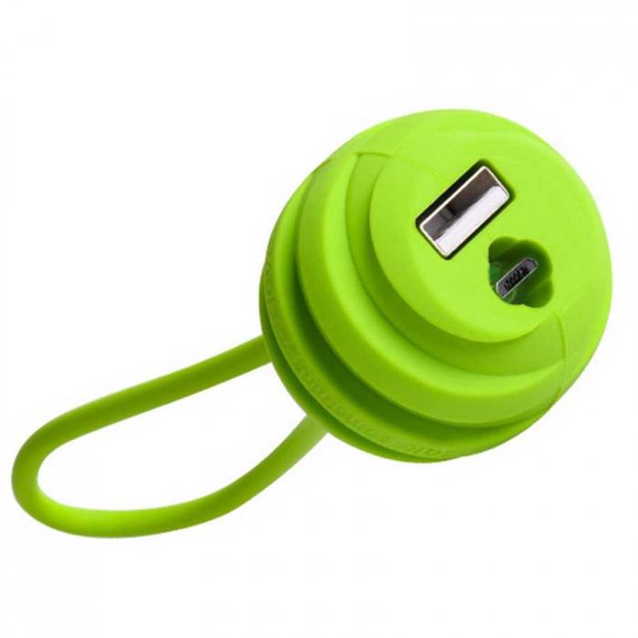 کابل تبدیل USB به microUSB هوکو مدل U3 طول 0.18 متر