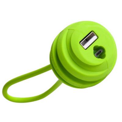 کابل تبدیل USB به microUSB هوکو مدل U3 طول 0.18 متر (مشکی)