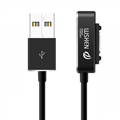 کابل شارژ مغناطیسی WSKEN مدل X-Cable Double Metal Intelligent به طول 1 متر مناسب برای گوشی و تبلت سو