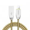 کابل تبدیل USB به لایتنینگ یوبائو مدل YB-412 طول 1 متر