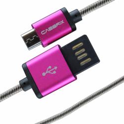 کابل تبدیل microUSB به USB دو طرفه کابریکس به طول 1 متر