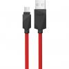 کابل تبدیل USB به microUSB هویت مدل HV-CB602X به طول 1 متر