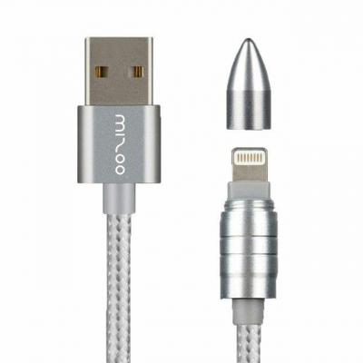 کابل تبدیل USB به لایتنینگ میزو مدل Bullet به طول 1 متر (طلایی)