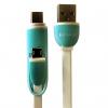 کابل تبدیل USB به لایتنینگ وmicroUSB  کین یال مدل C613به طول 130 سانتی متر