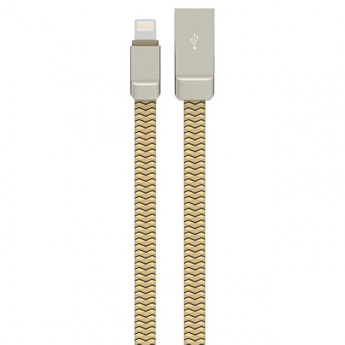 کابل تبدیل USB به لایتنینگ الدینیو مدل Zinc Alloy به طول 1 متر