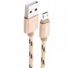 کابل تبدیل USB به microUSB هوکو مدل U6 طول 1.2 متر