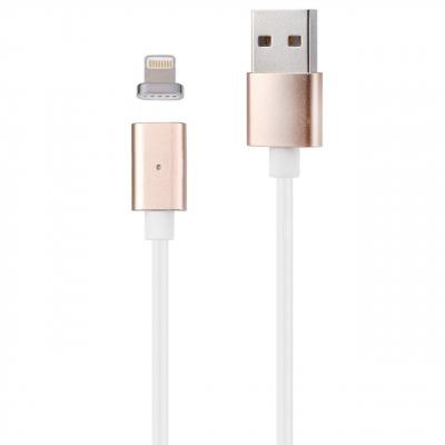 کابل تبدیل USB به لایتنینگ یوسمز مدل Metal Magnetic به طول 1 متر