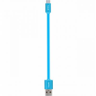 کابل تخت تبدیل USB به microUSB هویت مدل HV-CB668 به طول 0.18 متر