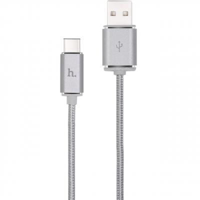 کابل تبدیل USB به USB-C هوکو مدل UPT01 به طول 120 سانتی متر