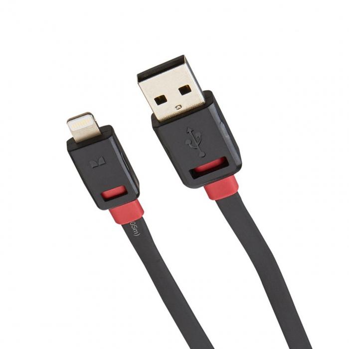 کابل تبدیل USB به لایتنینگ مانستر مدل iCable به طول 1 متر