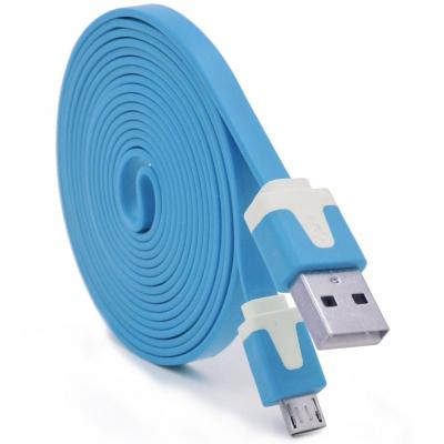 کابل USB به microUSB فلت به طول 1 متر
