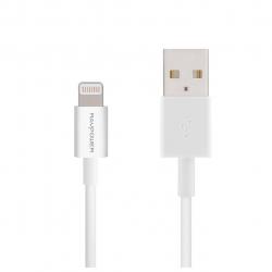 کابل تبدیل USB به لایتنینگ راو پاور مدل RP-LC01 طول 90 سانتی متر