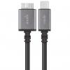 کابل تبدیل USB-C به Micro-B موشی طول 0.5 متر