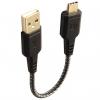 کابل تبدیل USB به USB-C انرجیا مدل Nylotough طول 0.16 متر