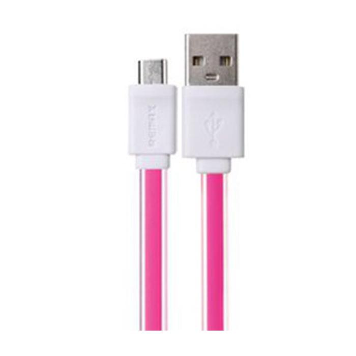 کابل تبدیل USB به microUSB ریمکس مدل Flat به طول 1 متر