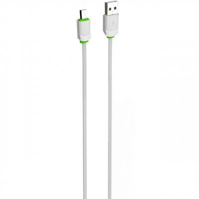 کابل تبدیل USB به microUSB الدینیو مدل LS06 به طول 1 متر