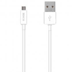 کابل تبدیل USB به microUSB هوکو مدل UPL01 طول 1.2 متر