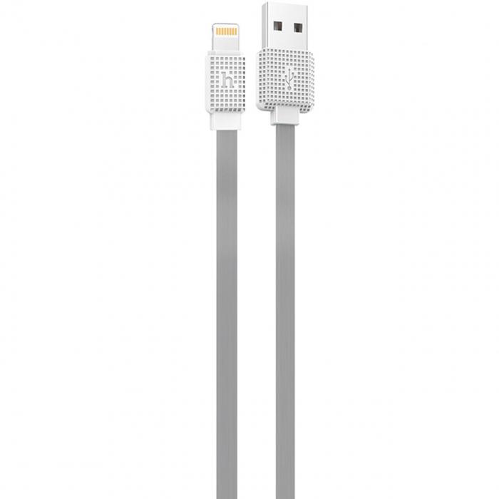 کابل تبدیل USB به لایتنینگ هوکو مدل UPL18 Waffle طول 1.2 متر