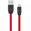کابل تخت تبدیل USB به microUSB هویت مدل HV-CB537 به طول 1 متر