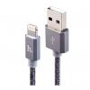 کابل تبدیل USB به لایتنینگ هوکو مدل UPF01Metal MFI طول 1.2 متر