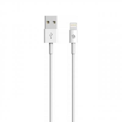 کابل تبدیل USB به لایتنینگ دویا مدل Smart به طول 1 متر (سفید)