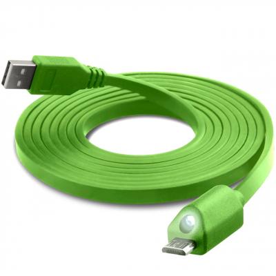 کابل تبدیل USB به microUSB نزتک مدل LED به طول 1.8 متر