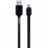 کابل تخت تبدیل USB به microUSB ریمکس مدل Fishbone به طول 100 سانتی متر