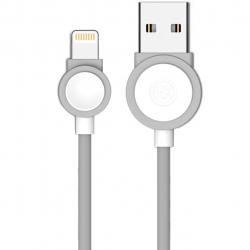 کابل تبدیل USB به لایتنینگ دبلیو کی مدل Rattle Drum به طول 1 متر