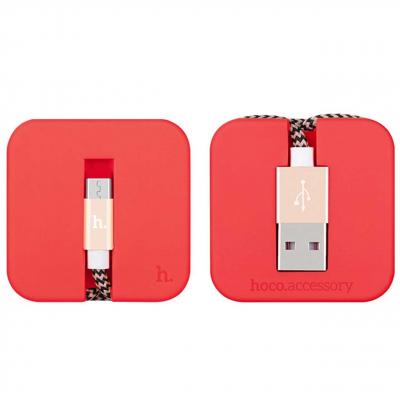 کابل تبدیل USB به microUSB هوکو مدل U4 طول 0.40 متر