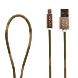 کابل تبدیل USB به microUSB مدل Graffiti AN 11 به طول 1 متر