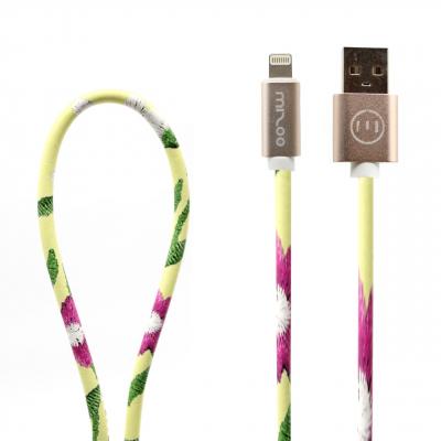 کابل تبدیل USB به لایتنینگ مدل Graffiti AP 03 به طول 1 متر