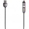 کابل تبدیل USB به لایتنینگ و microUSB انرجیا مدل Lumina به طول 1 متر