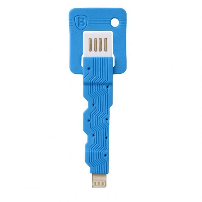 کابل تبدیل USB به لایتنینگ باسئوس مدل Ultra-Portable Key به طول 0.15 متر