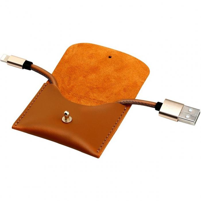 کابل تبدیل USB به لایتنینگ باسئوس مدل Mini به طول 0.20 متر