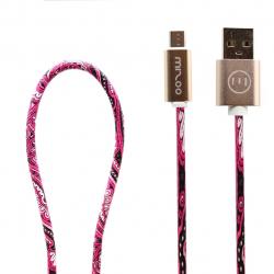 کابل تبدیل USB به microUSB مدل Graffiti AN 07 به طول 1 متر