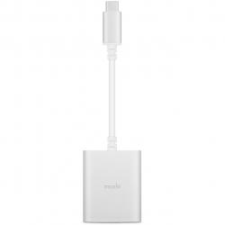 مبدل USB-C به جک 3.5 میلی متری و  USB-C موشی مدل Digital Audio
