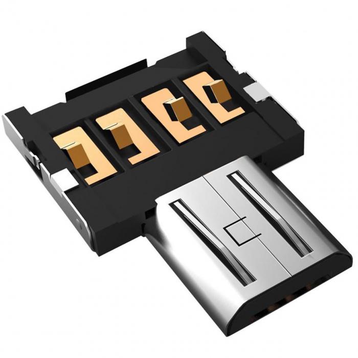 مبدل OTG به microUSB پرومیت مدل Nano