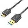 کابل تبدیل USB 3.0 به Micro-B یونیتک مدل Y-C462GBK طول 1.5 متر