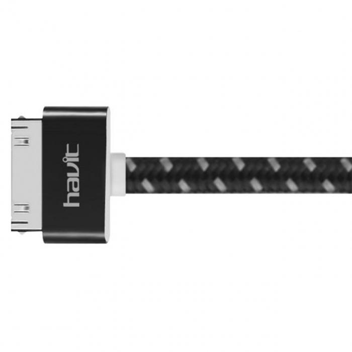 کابل تبدیل USB به 30 پین هویت مدل HV-CB416 به طول 1 متر