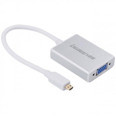 مبدل میکرو HDMI به VGA و انتقال صدا 3.5 میلی متری یوگرین مدل 40222