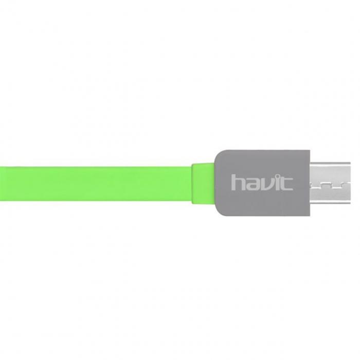 کابل تبدیل USB به microUSB هویت مدل HV-CB530 به طول 1 متر