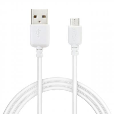 کابل تبدیل USB به Microusb ریمکس مدل R-500 به طول 3 متر (سفید)
