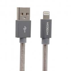 کابل تبدیل USB به لایتنینگ موکسوم مدل Data-01 به طول 1 متر