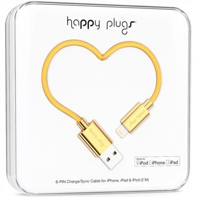 کابل تبدیل USB به لایتنینگ هپی پلاگز مدل Deluxe به طول 2 متر