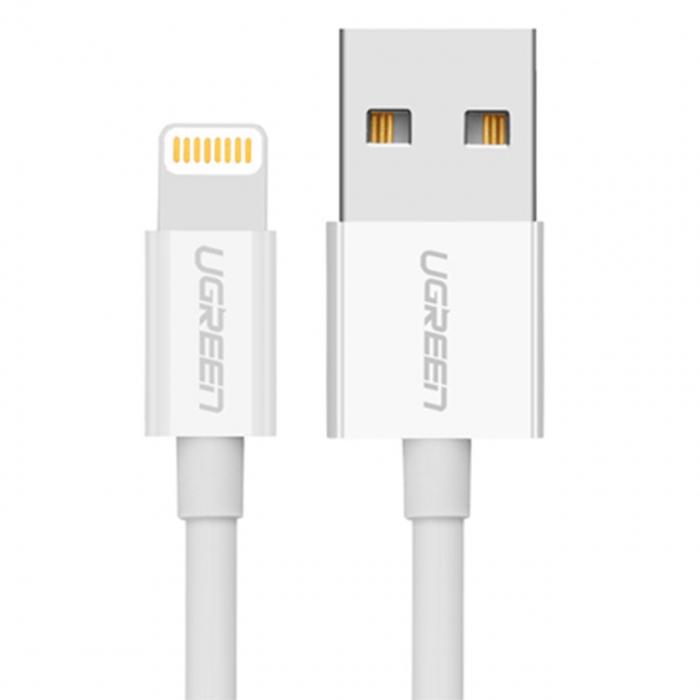 کابل تبدیل USB به لایتنینگ یوگرین مدل US155 طول 3 متر