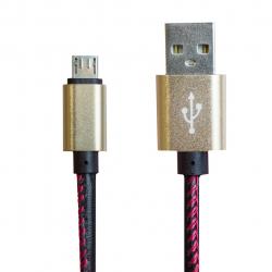 کابل تبدیل USB به MicroUSB اولنگ مدل Leather به طول 1 متر