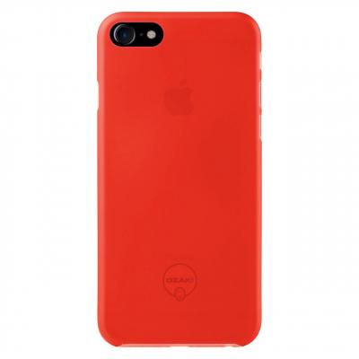 کاور اوزاکی مدل Hard Thin مناسب برای گوشی موبایل اپل  آیفون 7/8 (قرمز)